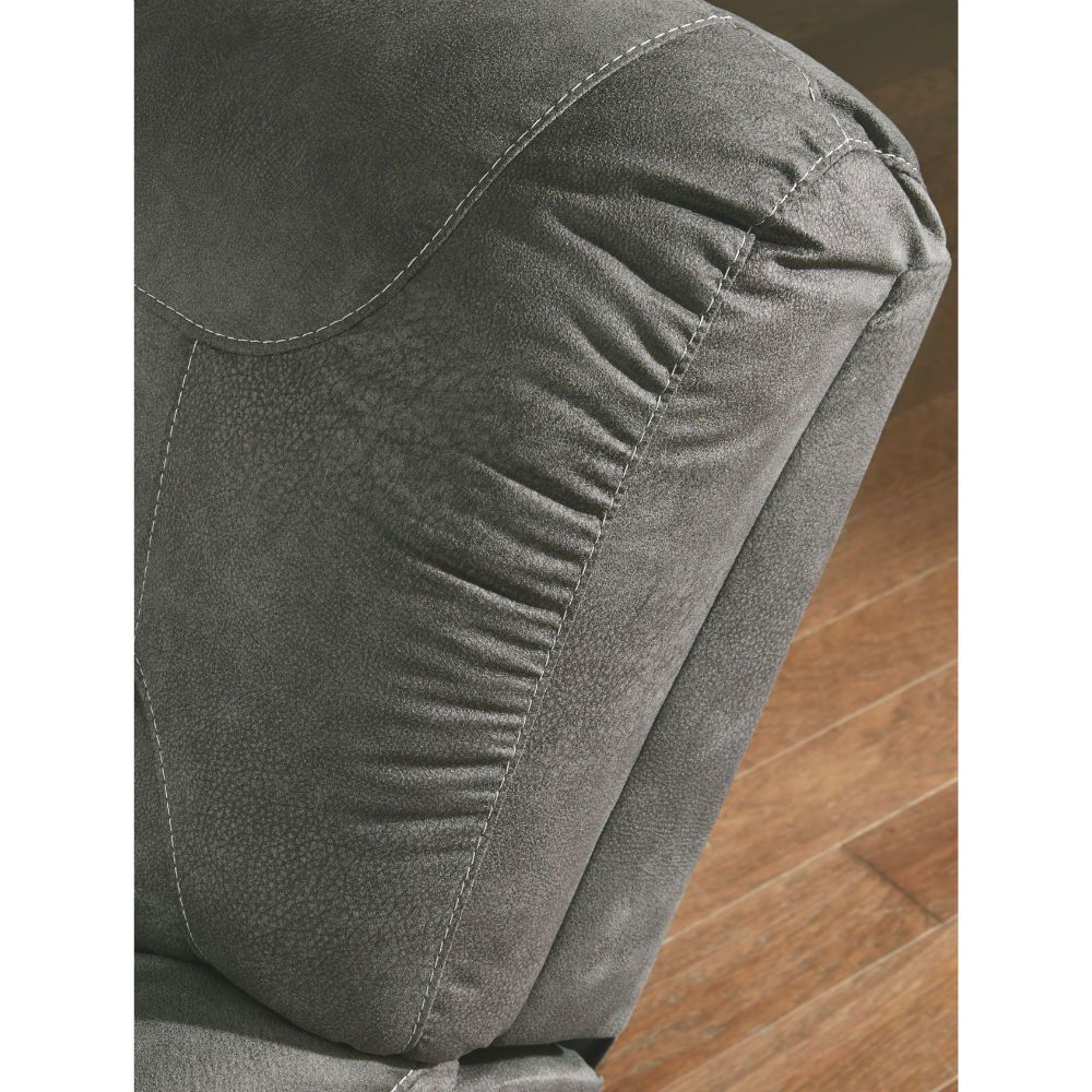 Baca Reclining Sofa - Slate - Headrest Detail