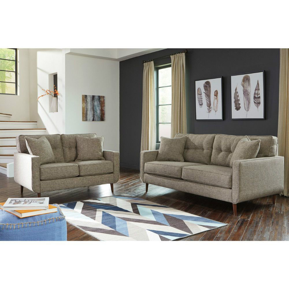 Chento Sofa and Loveseat - Lifestyle