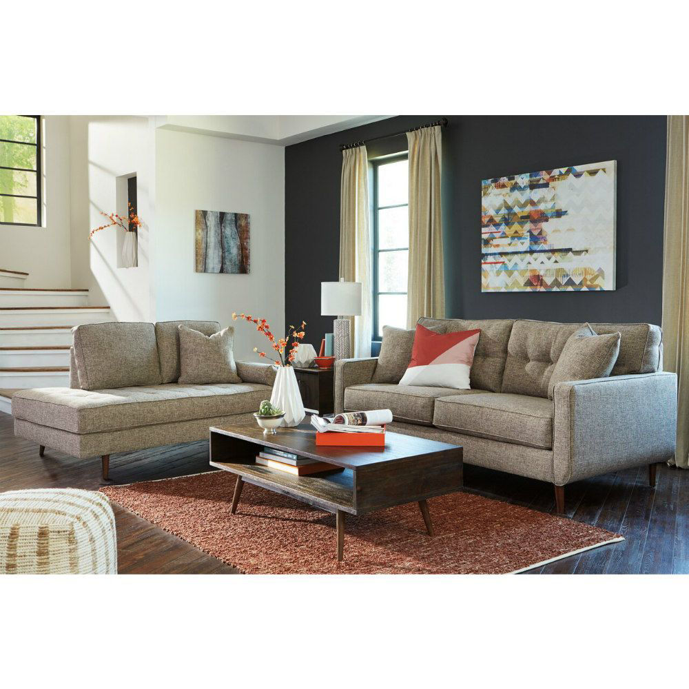 Chento Sofa and Chaise - Lifestyle