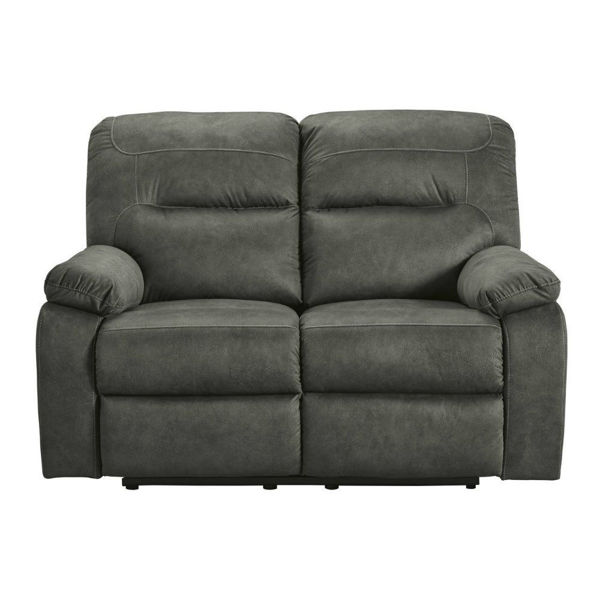 Picture of Baca Reclining Loveseat - Slate