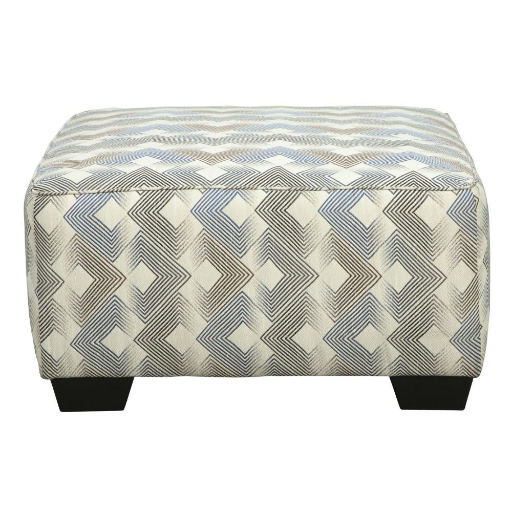 Eric Cocktail Ottoman - Front