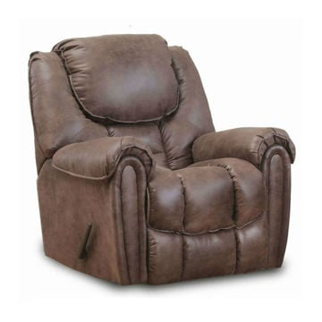 Wilton Mocha Rocking Recliner