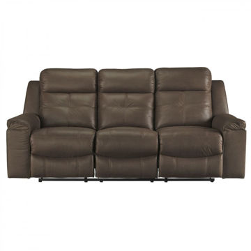 Abiquiu Reclining Sofa - Coffee