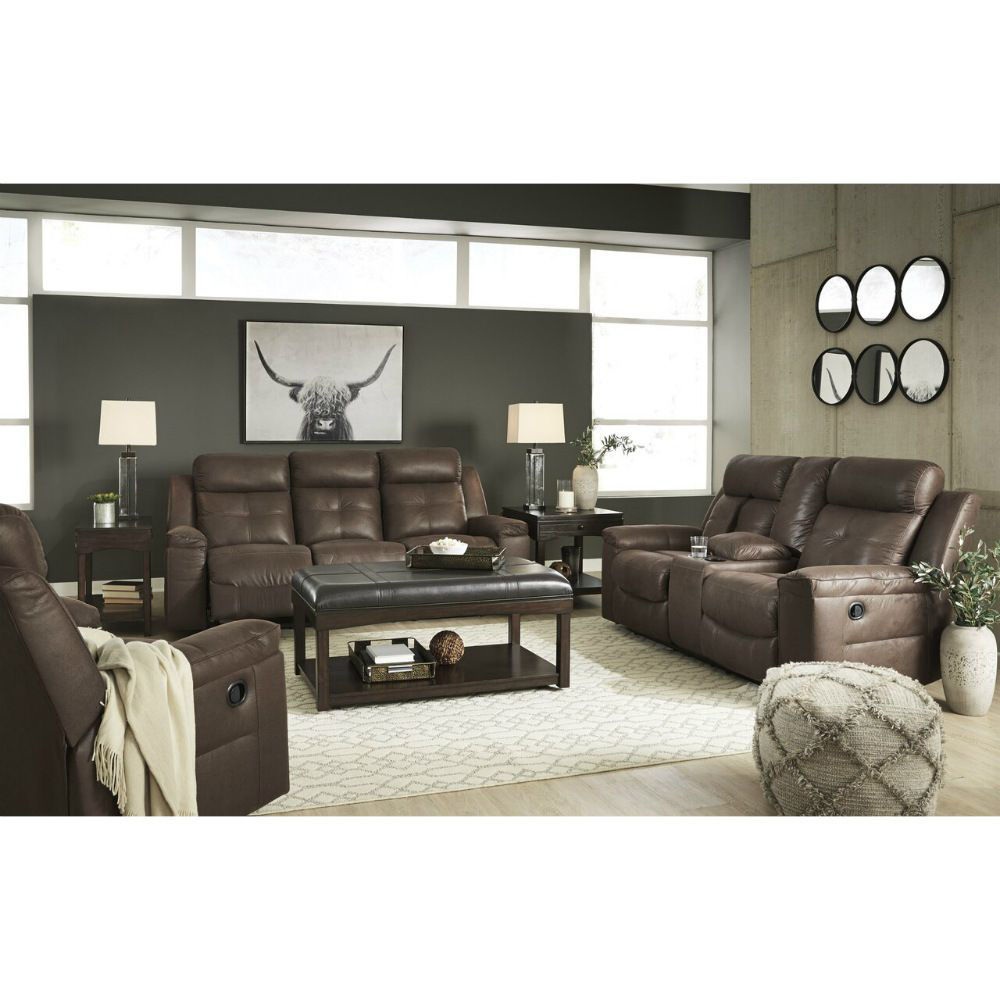 Abiquiu Reclining Collection - Coffee