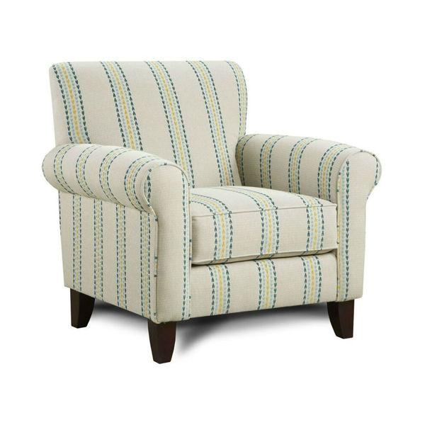 Emma Accent Chair - Stripe