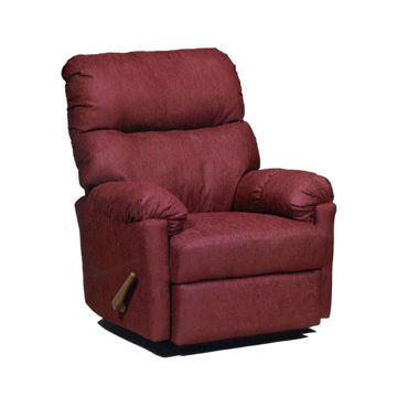 Ally Wall Saver Recliner - Burgundy