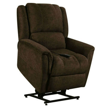 Casey Lift Chair - Chocolate