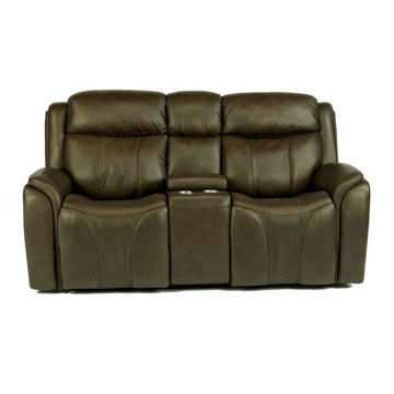 Prince Power Console Reclining Loveseat