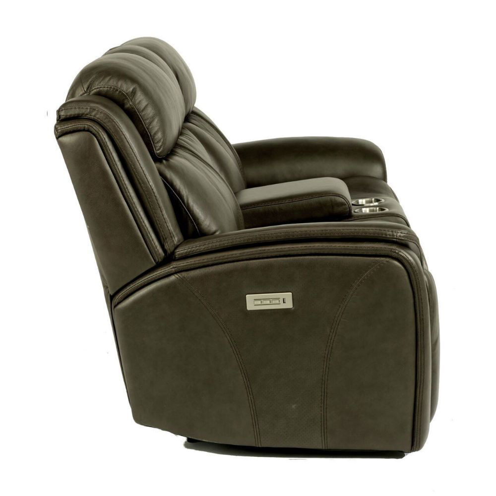 Prince Power Console Reclining Loveseat - Side