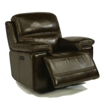 Fenwick Power Recliner - Dark Brown