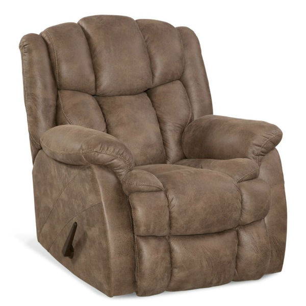 Picture of Corit Recliner - Sandy Brown