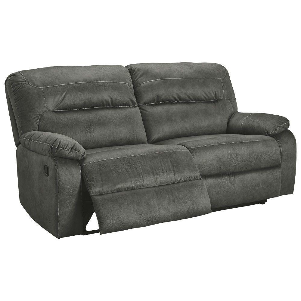 Baca Reclining Sofa - Slate