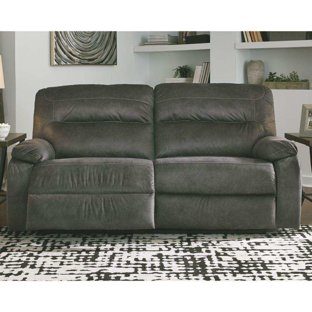 Baca Reclining Sofa - Slate - Lifestyle