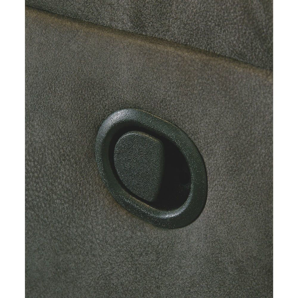 Baca Reclining Sofa - Slate - Pull Switch Detail