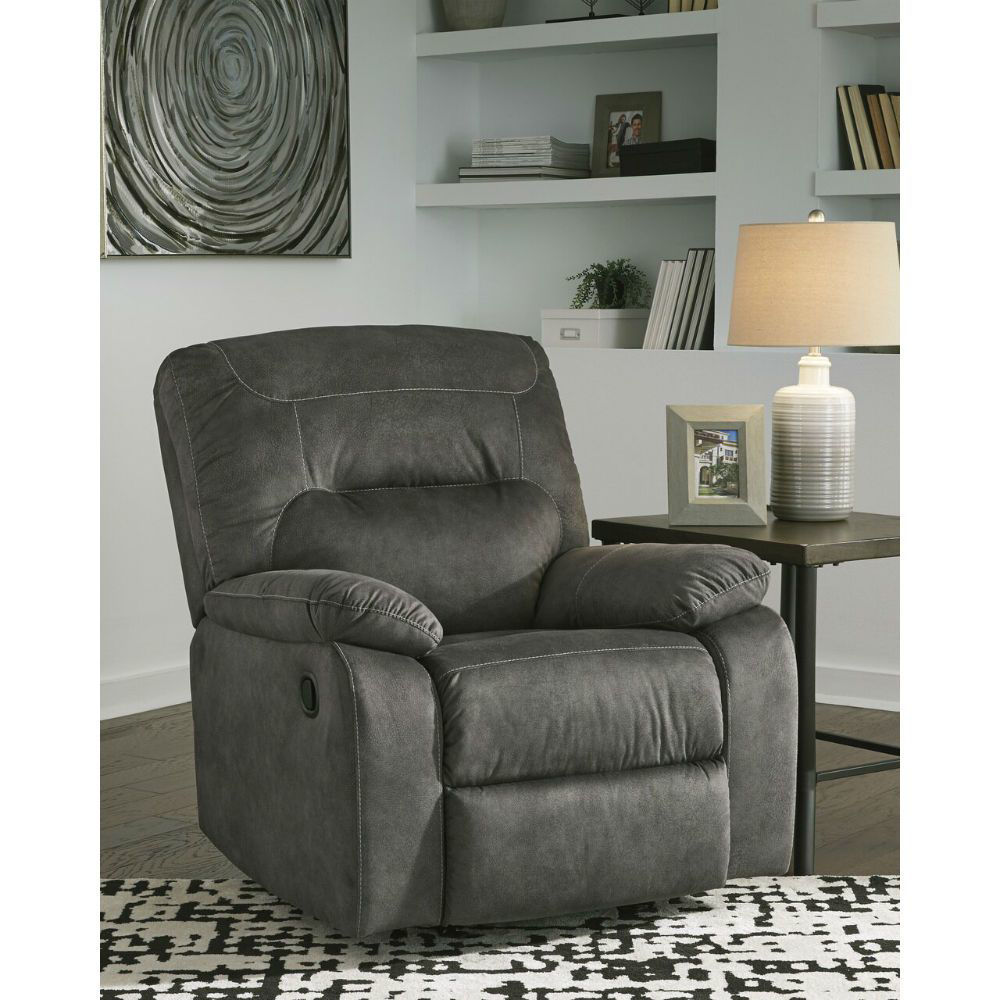 Baca Rocking Recliner - Slate - Lifestyle