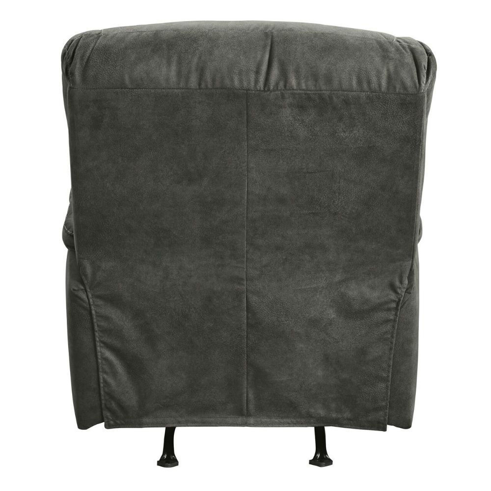 Baca Rocking Recliner - Slate - Fabric Detail