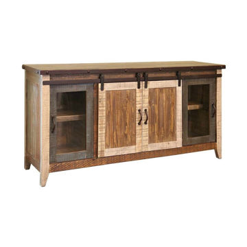 "70"" Painted Barn Console"