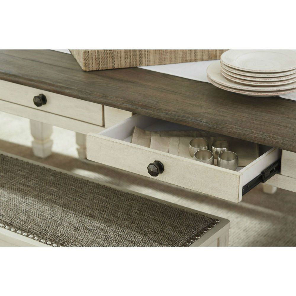 Olympia Dining Table - Drawer Detail