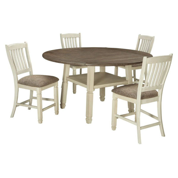Picture of Olympia 5-Piece Drop-Leaf Gathering Set