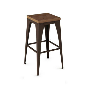 "Upright 26"" Backless Stool"