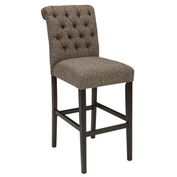 "Tripton 30"" Upholstered Stool - Graphite"