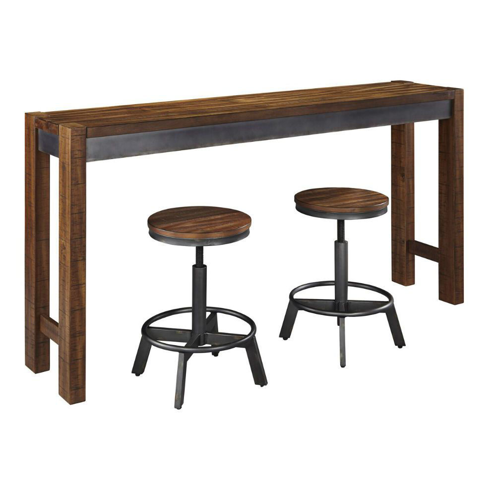 """Tojin 24"""" Stools and Table"""