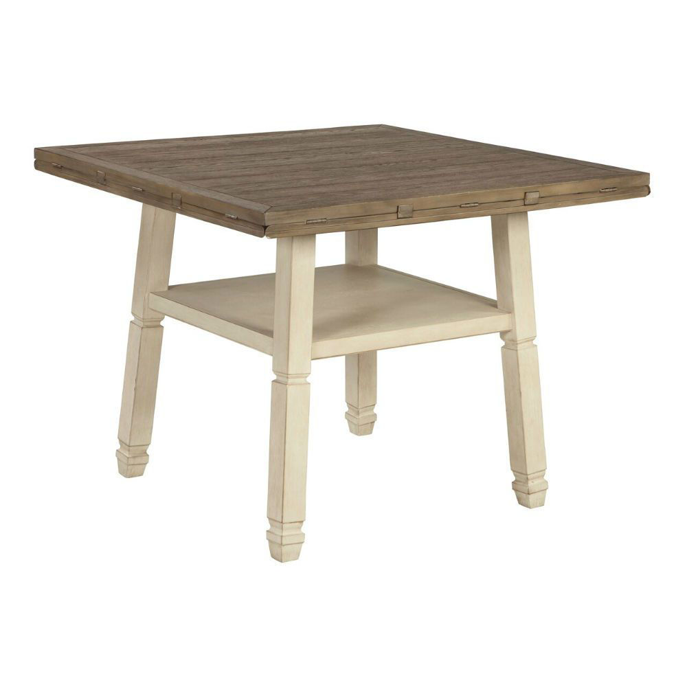 Olympia Drop-Leaf Dining Table - Leaves Down