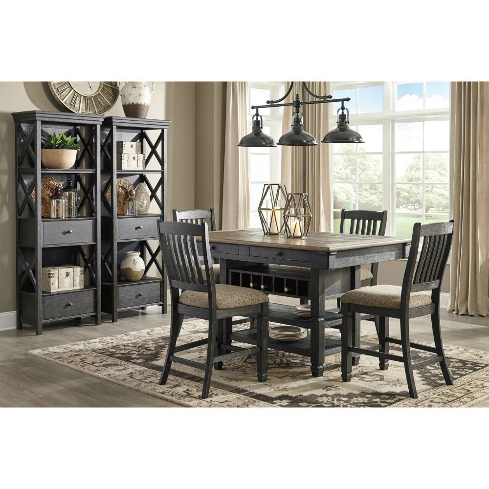 Roma 5-Piece Gathering Set - Lifestyle with Cabinet