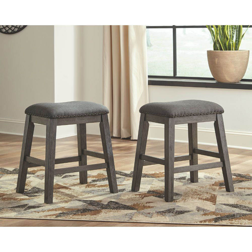 Paseo Backless Stool - Lifestyle Pair