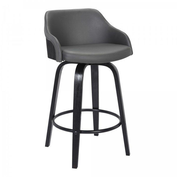 "Picture of Alec 26"" Swivel Barstool"