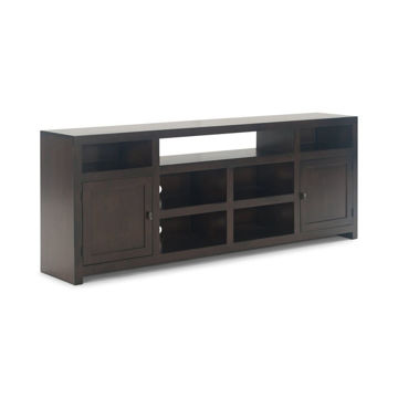 "Tribeca 84"" Cafe Console - Brown"
