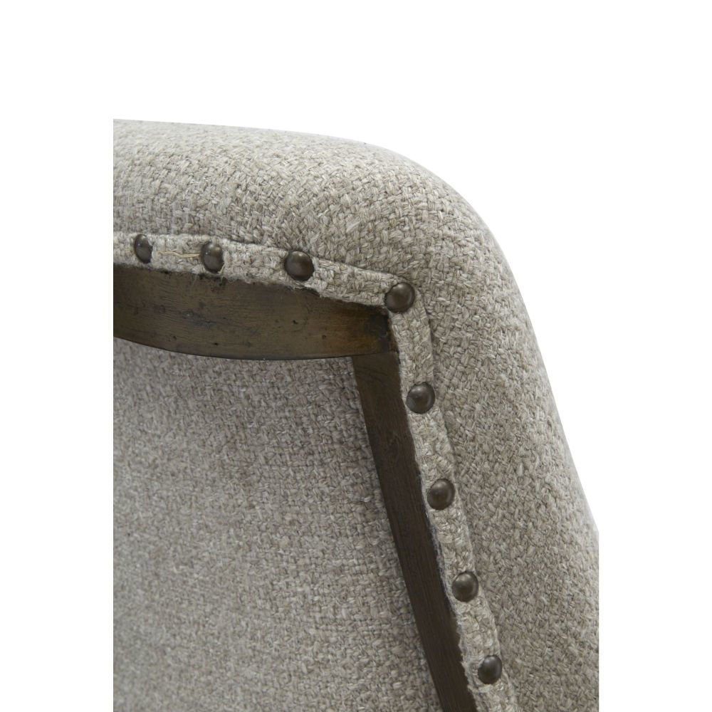 Roxbury Manor Upholstered Dining Bench - Top Detail