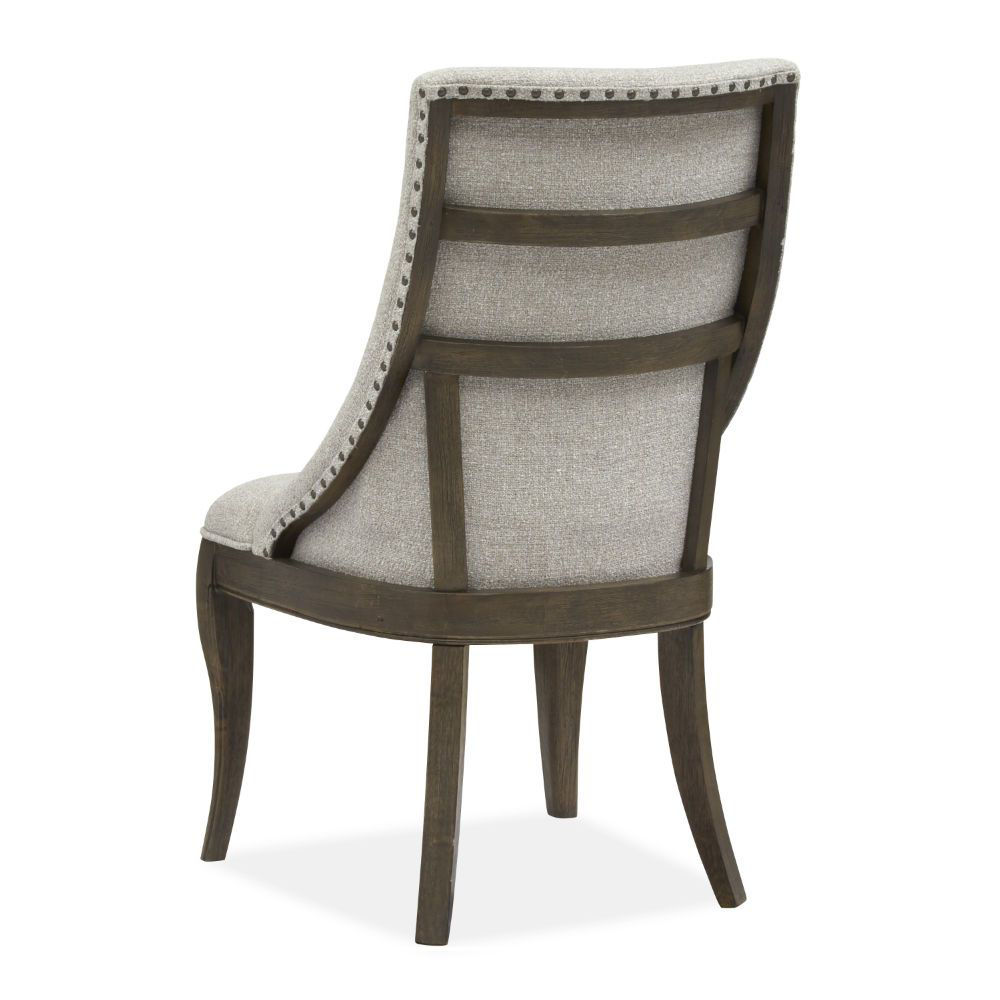 Roxbury Manor Upholstered Side Chair - Rear Angle