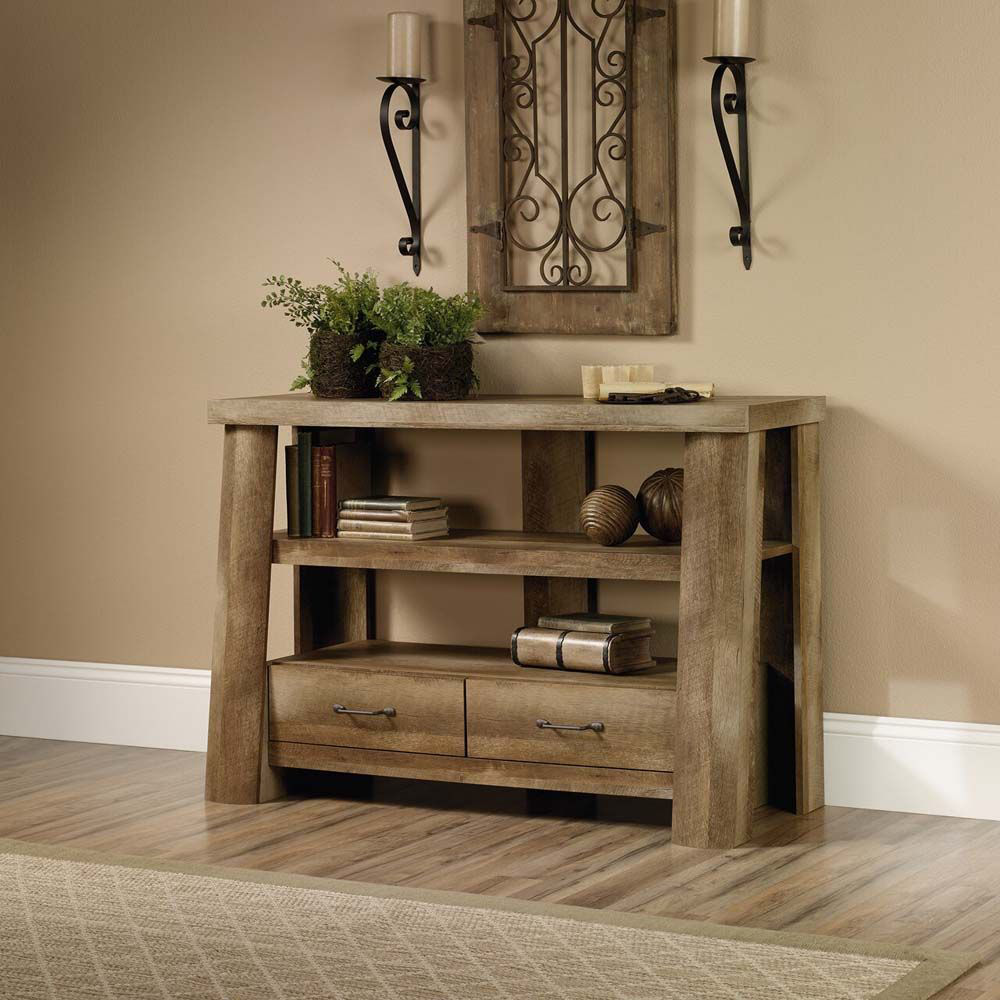 Boone Mountain Anywhere Console - Craftsman Oak - Lifestyle