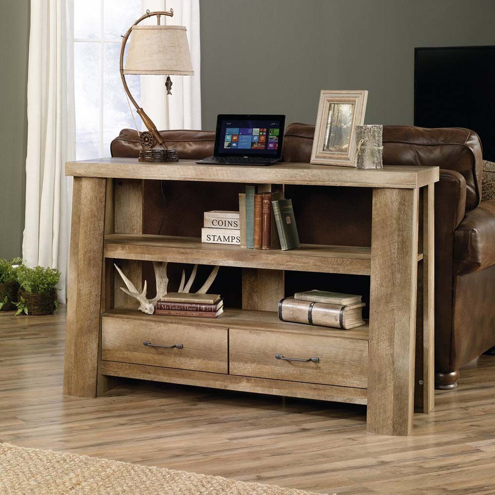 Boone Mountain Anywhere Console - Craftsman Oak - Lifestyle - Lamp Not Included