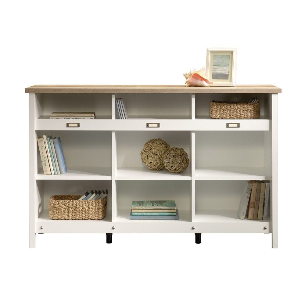 Adept Storage Credenza - Soft White - Head On View