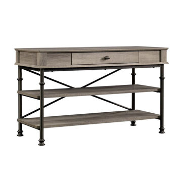 Canal Street TV Stand - Northern Oak