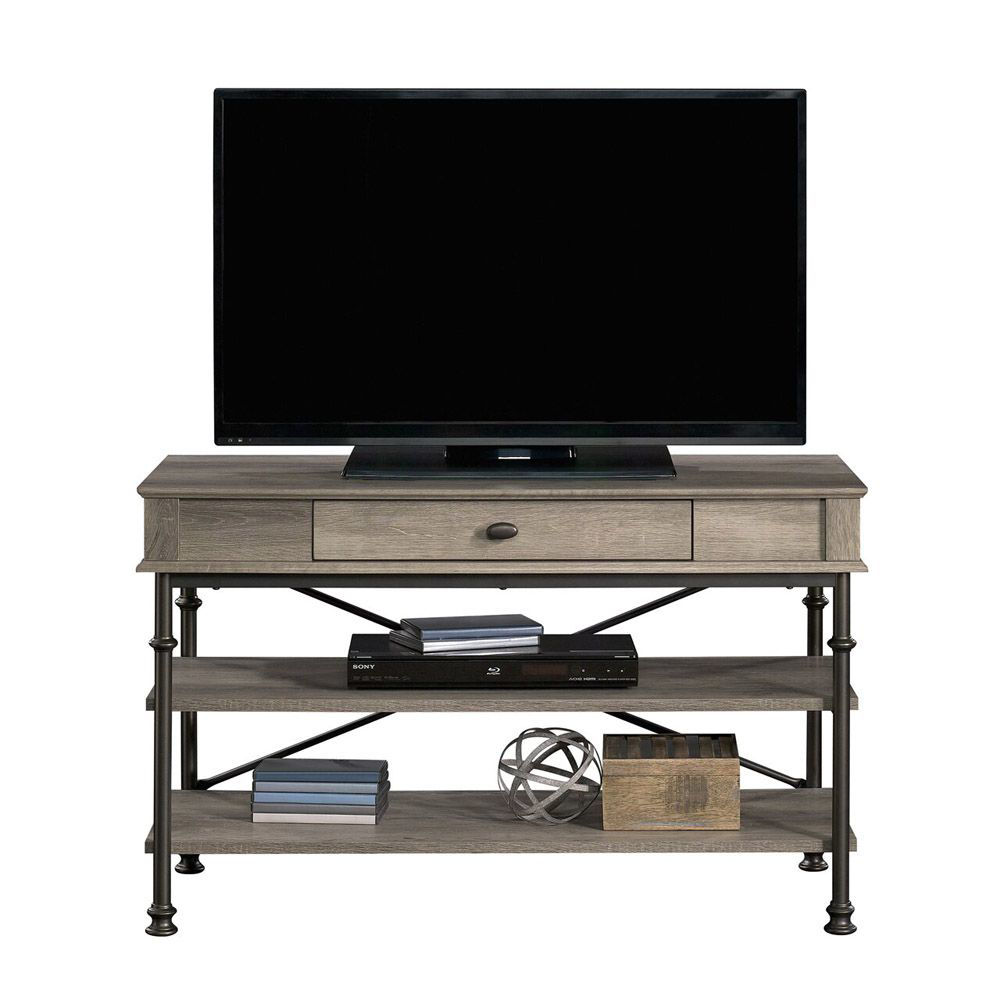 Canal Street TV Stand - Northern Oak - TV Not Included