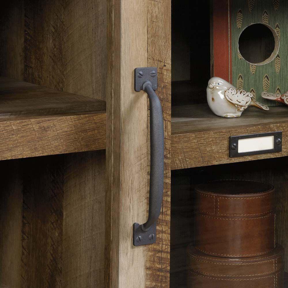 Dakota Pass Entertainment Credenza - Craftsman Oak - Handle
