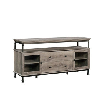 Canal Street Entertainment Credenza - Northern Oak