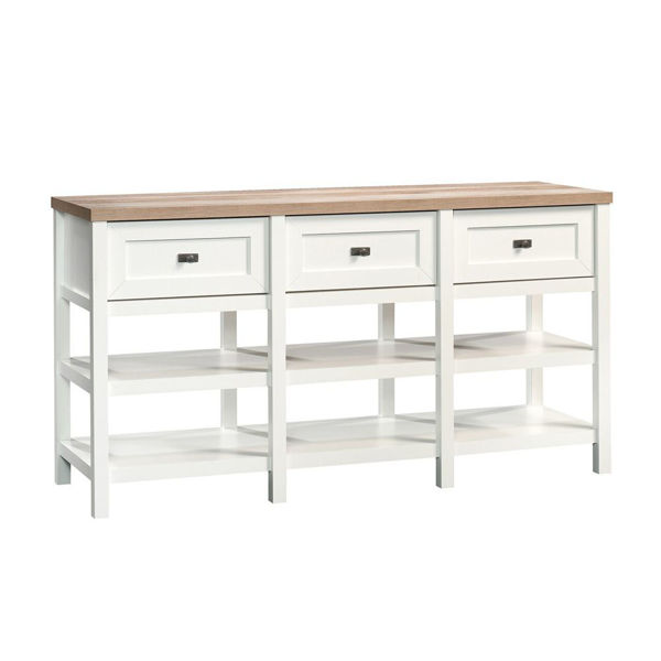 Cottage Road Entertainment Credenza - Soft White