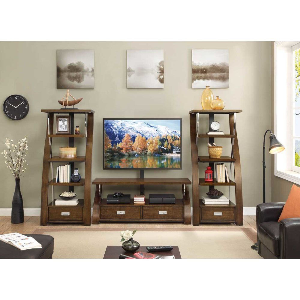 """Milan 54"""" TV Console - Shown With Wall Set - Sold Separately"""