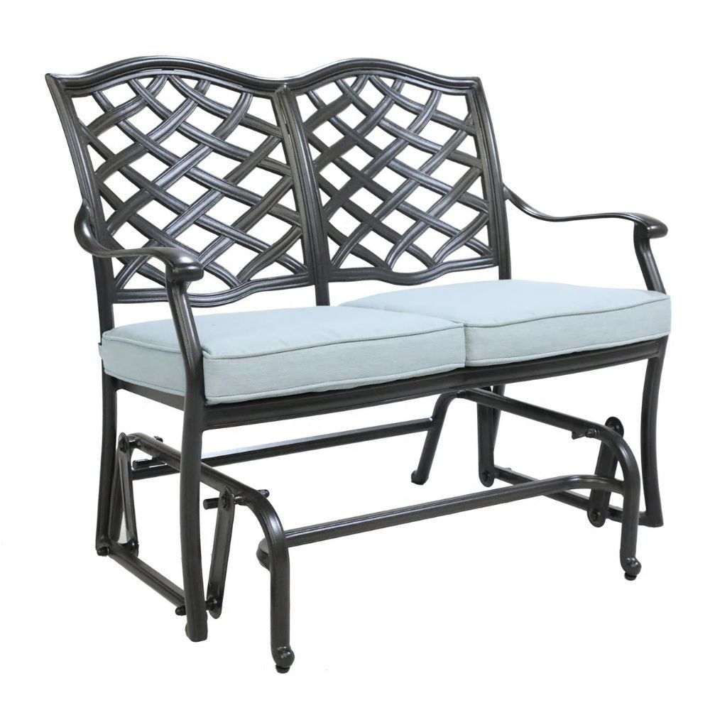 Halsey 5-Piece Lounge Set - Bench Glider
