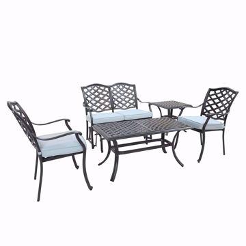 Halsey 5-Piece Lounge Set
