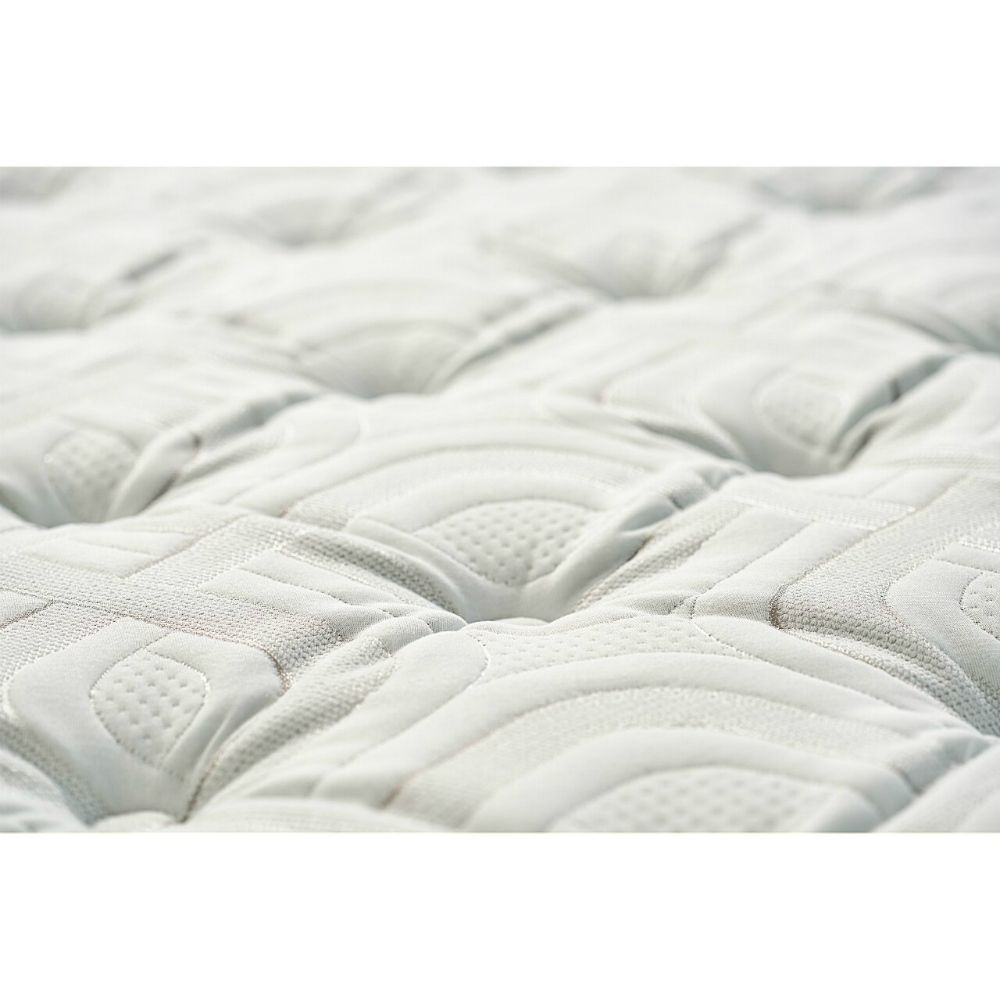 Pinon Mountain Plush Euro Pillowtop Mattress Sealy - Fabric Detail