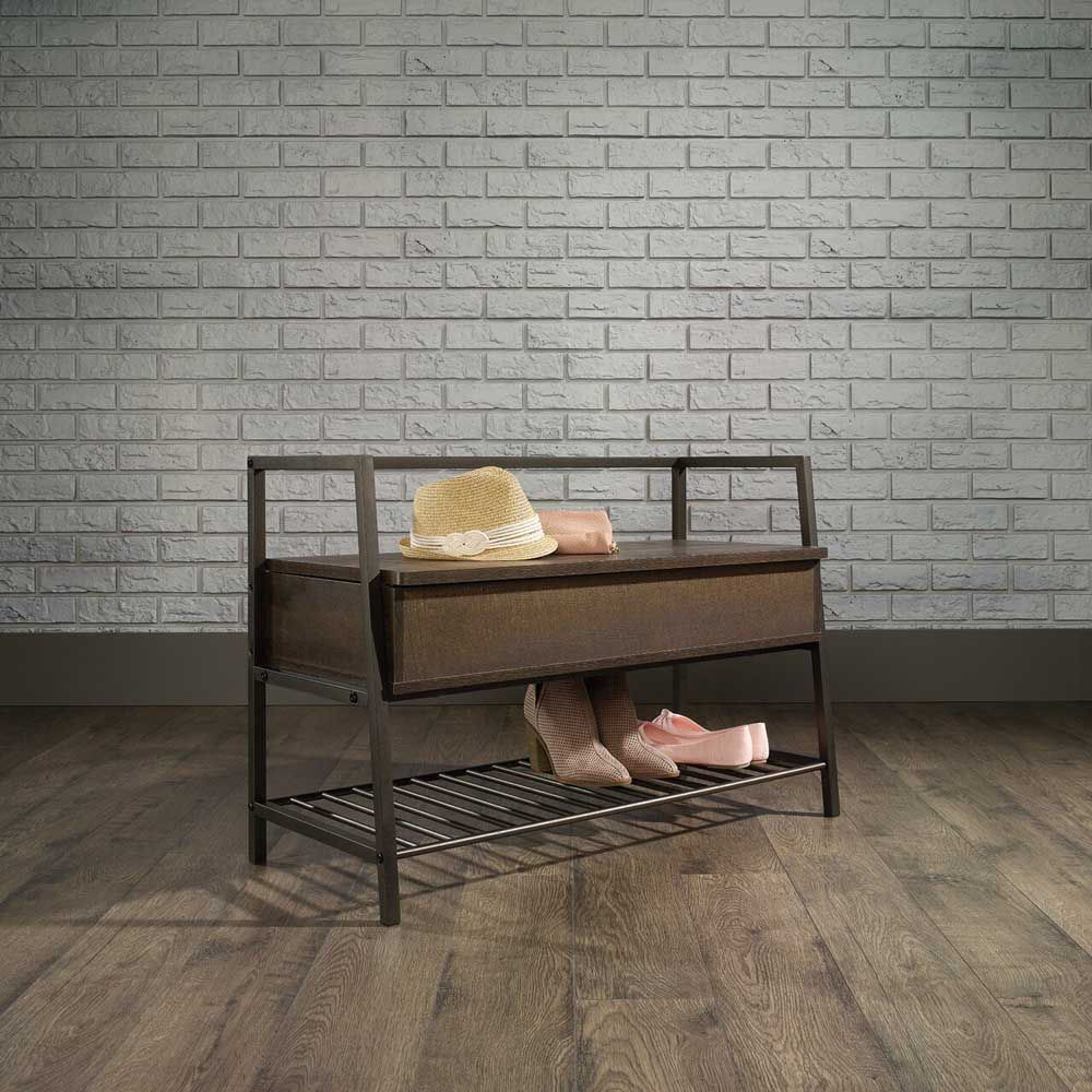 North Avenue Storage Bench - Lifestyle