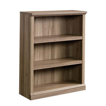 3-Shelf Bookcase - Salt Oak