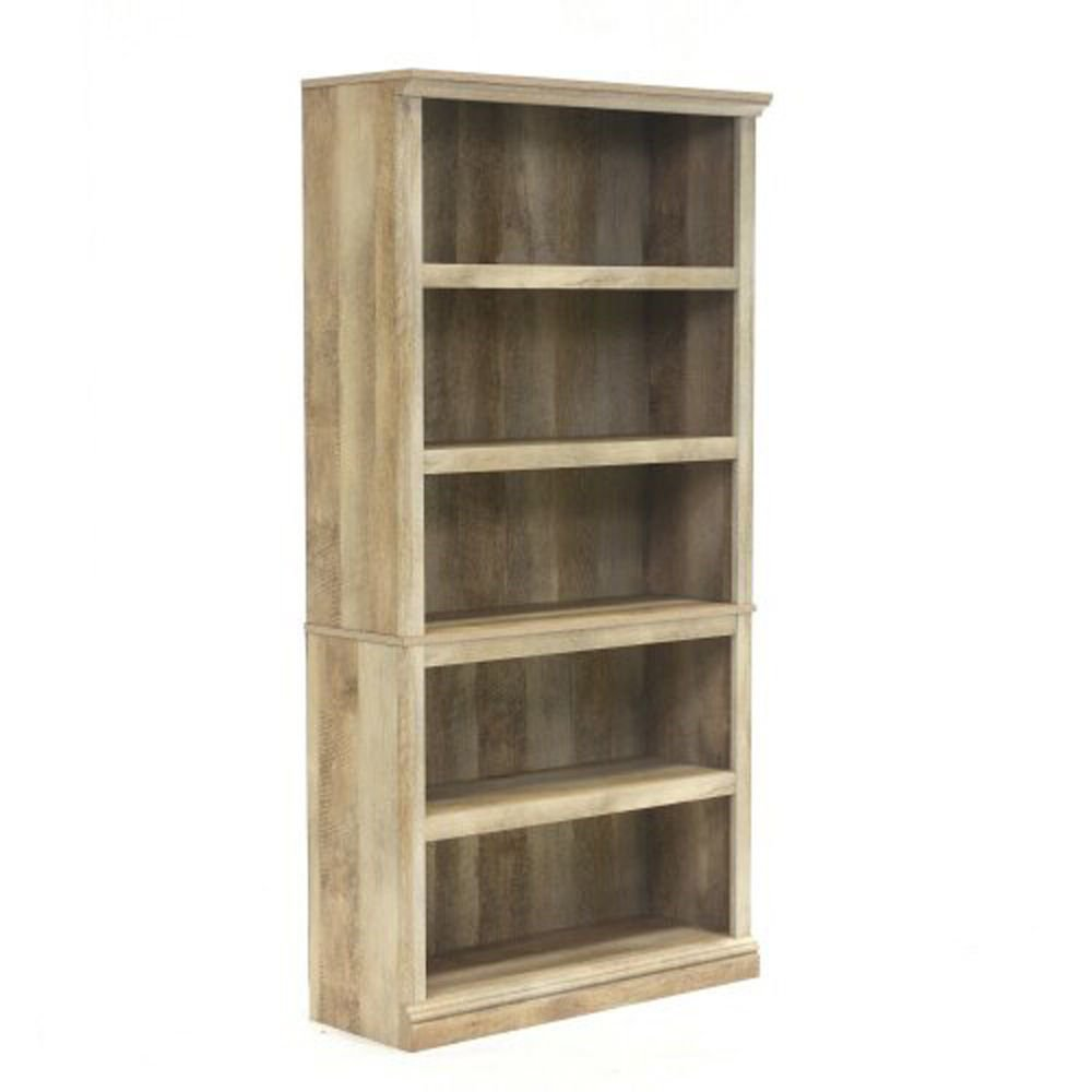 5-Shelf Bookcase - Lintel Oak