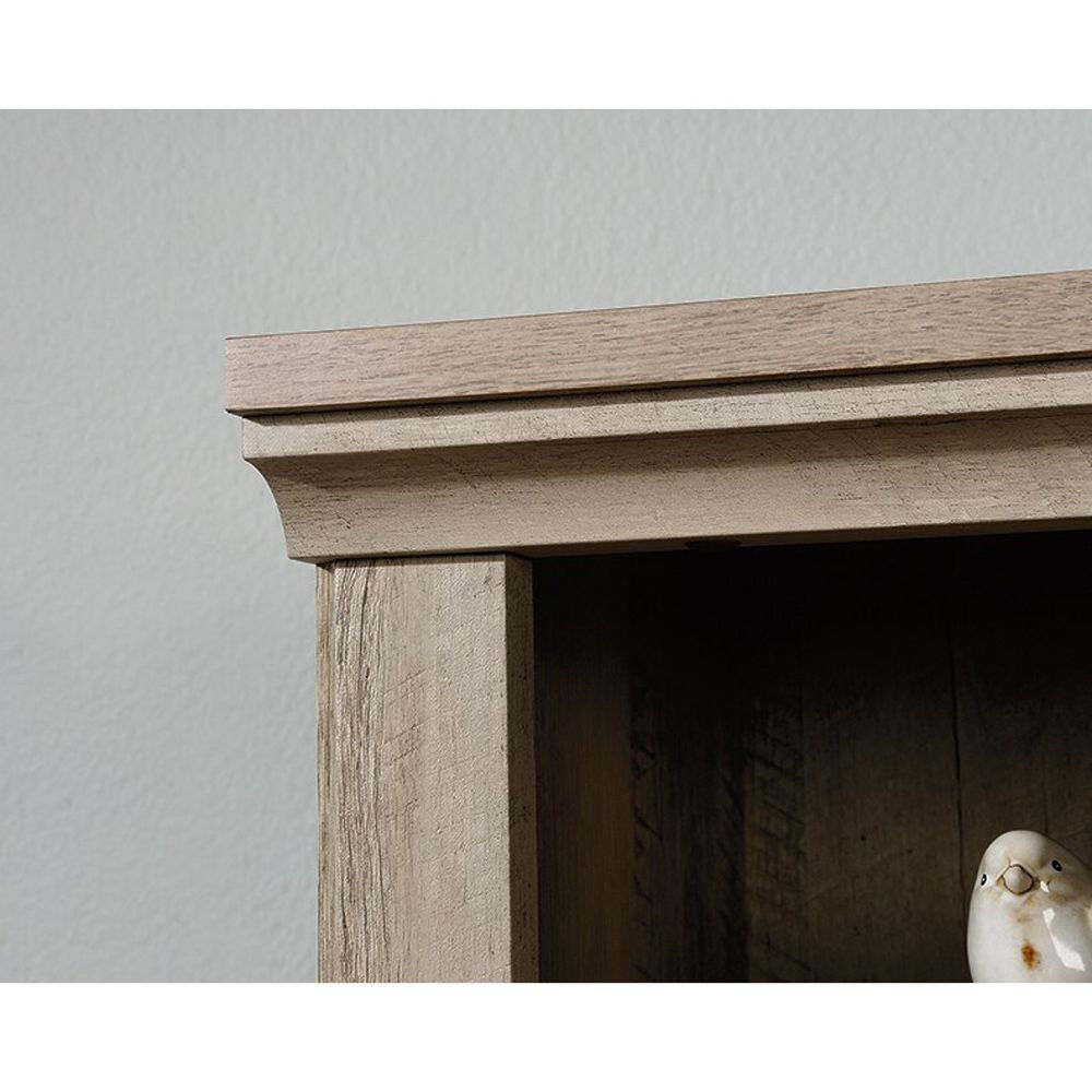5-Shelf Bookcase - Lintel Oak - Top Corner