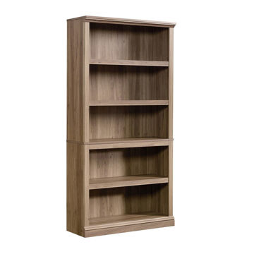 5-Shelf Bookcase - Salt Oak